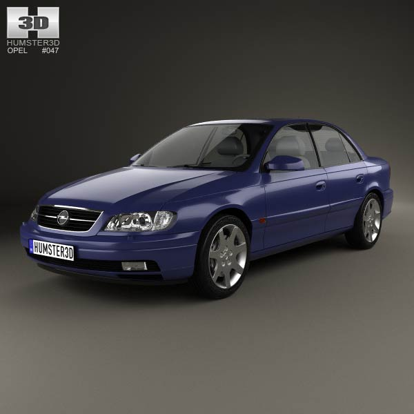 opel omega b sedan 1999 3d model for download in various formats. Black Bedroom Furniture Sets. Home Design Ideas
