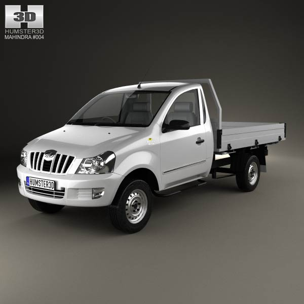Mahindra Genio Single Cab Pickup 2011 3d Model For