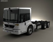 Mercedes-Benz Econic Chassis Truck 2009