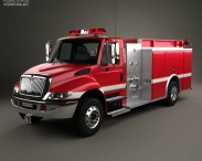 International Durastar Fire Truck 2002