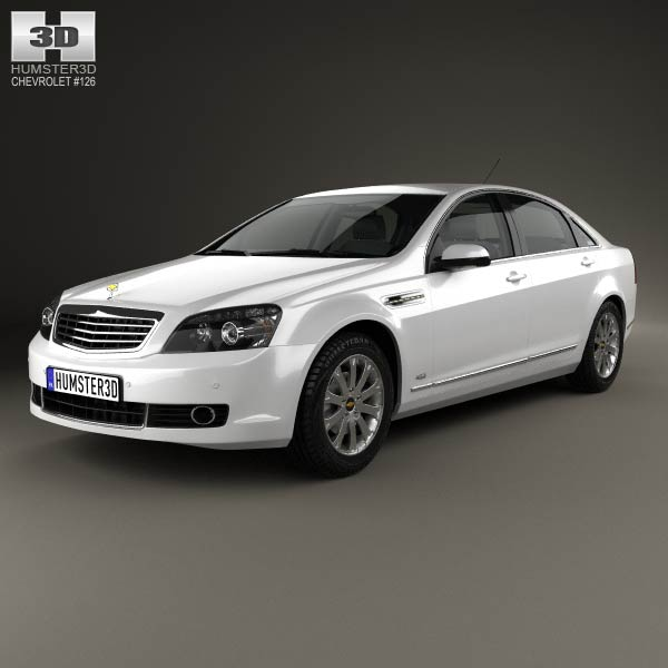 2011 Chevrolet Caprice: Chevrolet Caprice 2006 3D Model For Download In Various