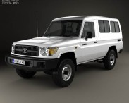 Toyota Land Cruiser (J78) 2010