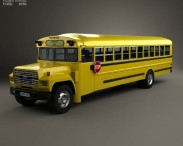 Ford B-700 Thomas Conventional School Bus 1984