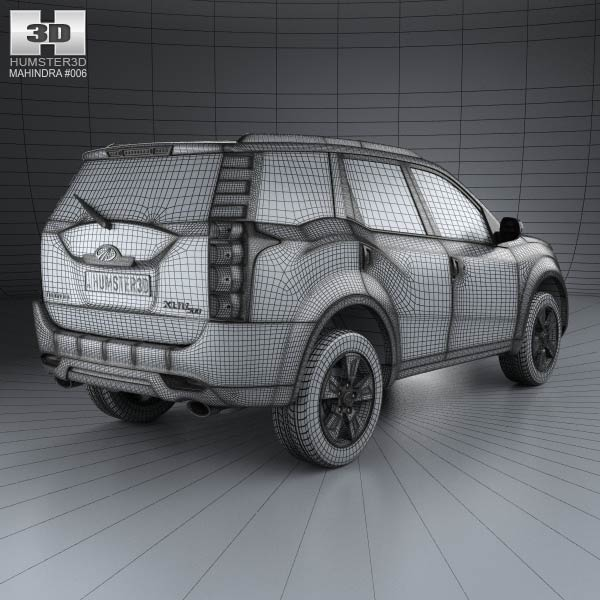 Mahindra XUV500 2011 3D model for Download in various formats