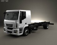 Iveco EuroCargo Chassis Truck 2013