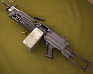 M249 Para light machine gun